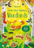Little First Stickers Woodlands - Little First Stickers (Paperback)