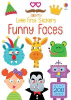 Little First Stickers Funny Faces - Little First Stickers (Paperback)