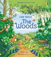 Look Inside the Woods - Look Inside (Board book)