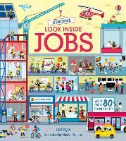 Look Inside Jobs - Look Inside (Board book)