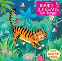The Jungle - Usborne Book and Jigsaw (Paperback)