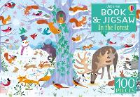 Usborne Book and Jigsaw In the Forest
