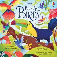 Pop-Up Birds - Pop-Ups (Board book)