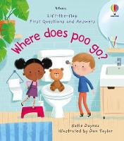 Where Does Poo Go? - Lift-the-Flap First Questions & Answers (Board book)