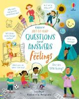 Lift-the-Flap Questions and Answers About Feelings - Questions & Answers (Board book)