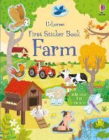 First Sticker Book Farm - First Sticker Books series (Paperback)