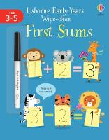 Early Years Wipe-Clean First Sums - Usborne Early Years Wipe-clean (Paperback)