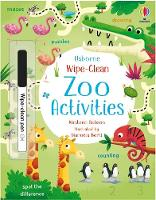 Wipe-Clean Zoo Activities - Wipe-clean Activities (Paperback)