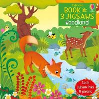Woodland - Book and 3 Jigsaws (Board book)