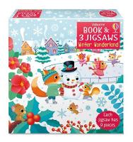 Winter Wonderland - Book and 3 Jigsaws (Board book)