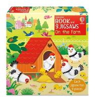 Book and 3 Jigsaws: On the Farm - Book and 3 Jigsaws (Board book)
