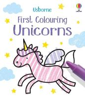 First Colouring Unicorns - Little First Colouring (Paperback)
