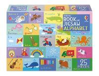 Book and Jigsaw Alphabet - Usborne Book and Jigsaw (Paperback)