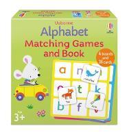 Alphabet Matching Games and Book - Matching Games
