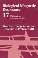 Structure Computation and Dynamics in Protein NMR - Biological Magnetic Resonance 17 (Paperback)