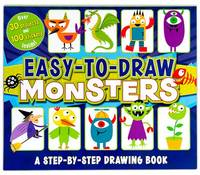 Easy to Draw Monsters (Paperback)