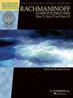Rachmaninoff: Complete Preludes (Book)