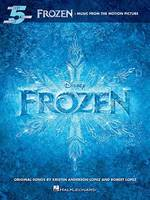 Frozen: Music From The Motion Picture Series - Beginning Piano Solo Songbook (Paperback)