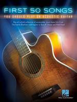 First 50 Songs You Should Play on Acoustic Guitar: You Should Play on Acoustic Guitar (Book)