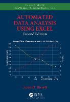 Automated Data Analysis Using Excel, Second Edition