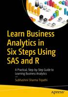 Learn Business Analytics in Six Steps Using SAS and R: A Practical, Step-by-Step Guide to Learning Business Analytics (Paperback)