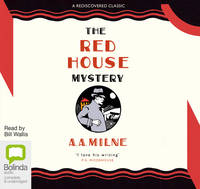 The Red House Mystery (CD-Audio)