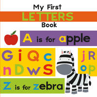 My First Letters Book (Board book)