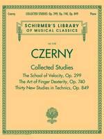 Schirmer's Library of Musical Classics - Czerny: Collected Studies Op. 299, Op. 740, Op. 849 (Paperback)