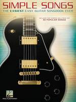 Simple Songs: The Easiest Easy Guitar Songbook Ever (Book)