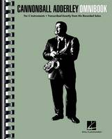 Cannonball Adderley - Omnibook: For C Instruments (Book)