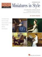 Miniatures in Style: Hal Leonard Student Piano Library Composer Showcase Intermediate Level (Book)