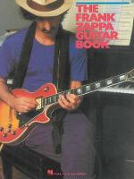 The Frank Zappa Guitar Book: Transcribed By And With Intro By Steve Vai (Paperback)