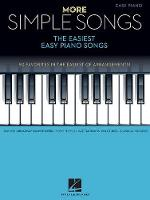 More Simple Songs: The Easiest Easy Piano Songs (Book)