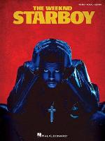 THE WEEKND STARBOY PIANO VOCAL GUITAR BOOK (Paperback)