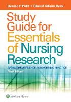 Study Guide for Essentials of Nursing Research (Paperback)