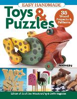 Easy Handmade Toys & Puzzles: 35 Wood Projects & Patterns (Paperback)