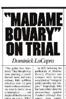 Madame Bovary on Trial (Paperback)