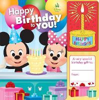 Disney Baby Birthday Book (Hardback)