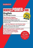 Regents English Power Pack: Let's Review English + Regents Exams and Answers: English - Barron's Regents NY (Paperback)