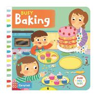 Busy Baking - Busy Books (Board book)