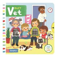 Busy Vet - Busy Books (Board book)