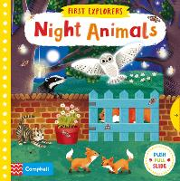 Night Animals - First Explorers (Board book)