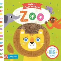 Zoo - My First Touch and Find (Board book)