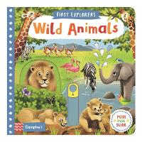 Wild Animals - First Explorers (Board book)
