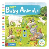Busy Baby Animals - Busy Books (Board book)
