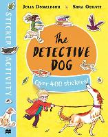 The Detective Dog Sticker Book (Paperback)