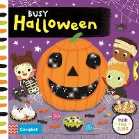 Busy Halloween - Busy Books (Board book)