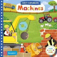 Machines - First Explorers (Board book)