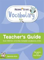 Rising Stars Vocabulary: Reception and Key Stage 1 (Paperback)