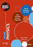 Need to Know: Higher Physics (Paperback)